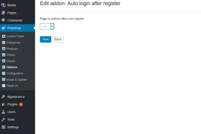 Auto login after register